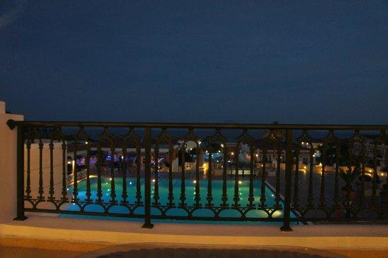 Atlantica Porto Bello Royal: The view from the lobby bar.