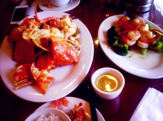 Lee Central Park Chinese Restaurant : Lobster and prawn