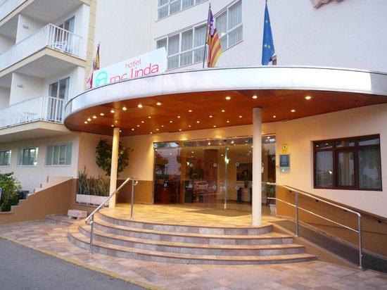 Hotel Roc Linda: l entrée
