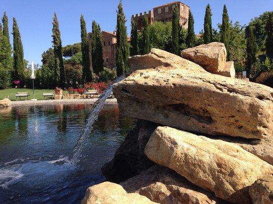 Agriturismi Il Castello La Grancia: Vista dal biolago