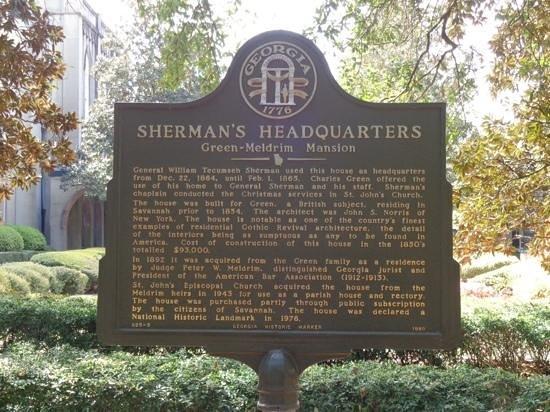 Green-Meldrim House : Green-Meldrim Mansion Savannah, Ga.
