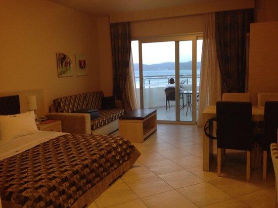 Molos Bay Hotel: Chambre double