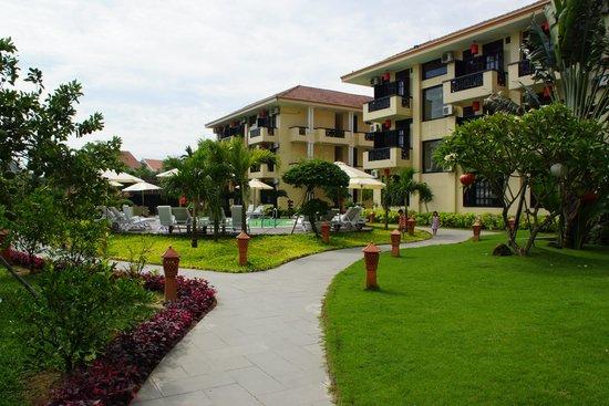Phu Thinh Boutique Resort & Spa : Garten