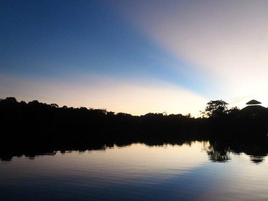La Selva Amazon Ecolodge: La Selva Sunset