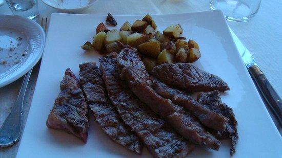 Hotel Ristorante Giardinetto: sirloin steak