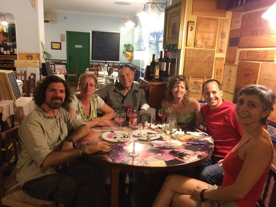 Not Just a Tourist: Having a blast with David and Mahsa at our final stop on the Tapas Tour