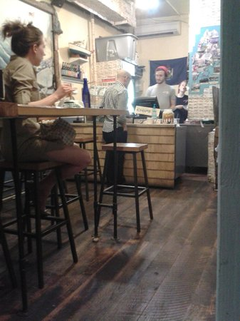 Luke's Lobster East Village : L'interno