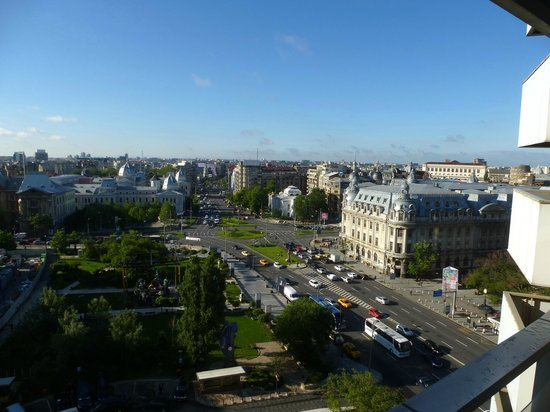 InterContinental Bucharest : View from room