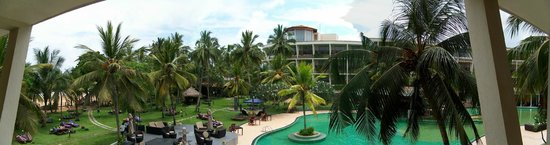 Eden Resort & Spa: Panoramic view of hotel