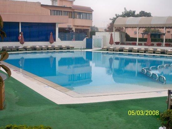 Cairo Pyramids Hotel: حمام السباحة