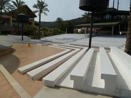 Aquafantasy Aquapark Hotel & SPA: Amphitheater