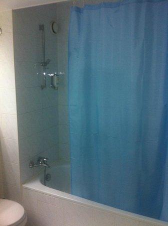 Hotel Regent: Wanne mit Duschvorhang