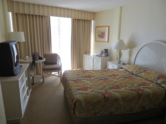 OHANA Waikiki East Hotel: ベッド