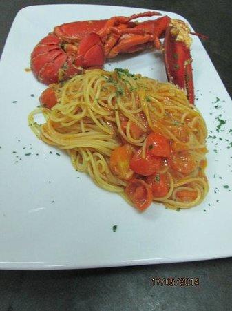 Pasta & Vino Trattoria : Spaghetti all'Astice