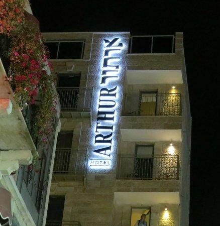 Arthur Hotel Jerusalem - an Atlas Boutique Hotel: Exterior