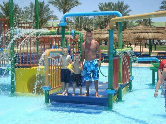 Aqua Blue Water Park: Great family day out.