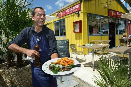 La Croix Du Sud restaurant : Fred Entrecôte
