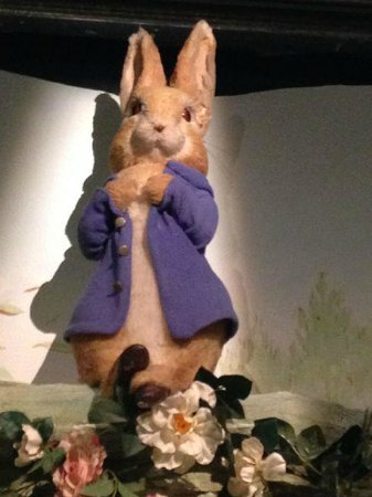 Peter Rabbit at The World of Beatrix Potter