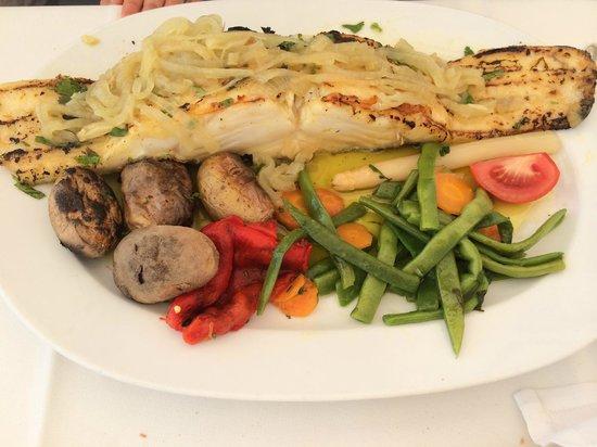 Restaurante O Infante: Bacalhau Assado