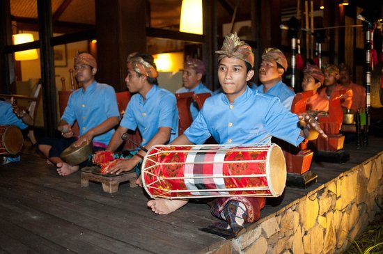 Jeeva Klui Resort: Gamelan performance