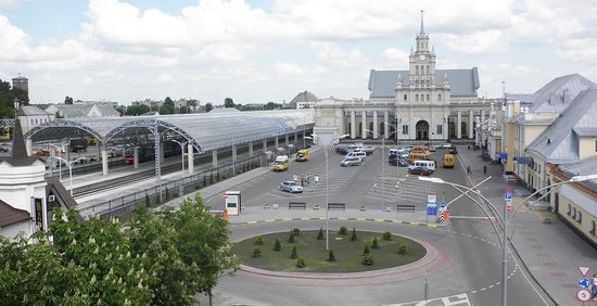 train station after the renovation 2014 brest belarus picture