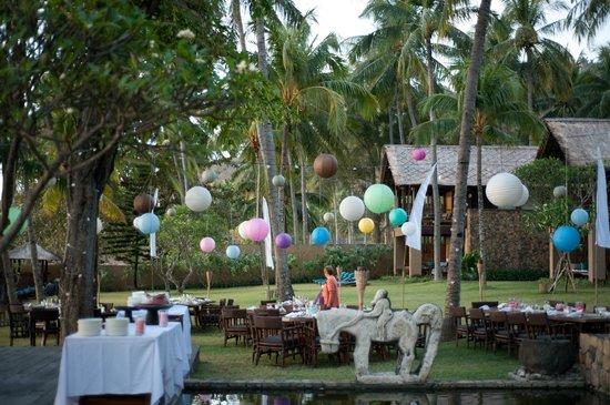 Jeeva Klui Resort: Location for wedding dinner