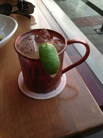Chapter One: the modern local: Moscow Mule - Yum!