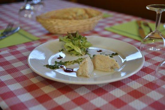 La Croix Du Sud restaurant : Rillette de poisson