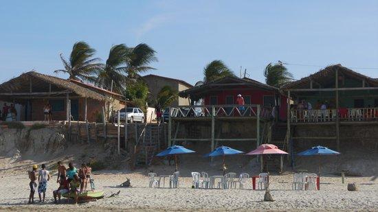 Hotel Vila Selvagem : Beach restaurant
