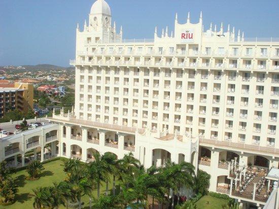 Hotel Riu Palace Aruba: Vistas despues del cambio de habitacion