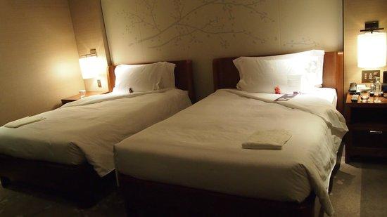 Conrad Tokyo: double bed