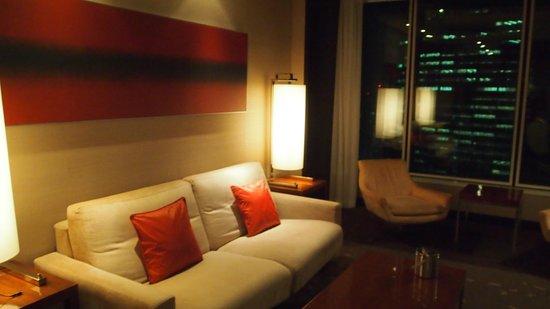 Conrad Tokyo: living room