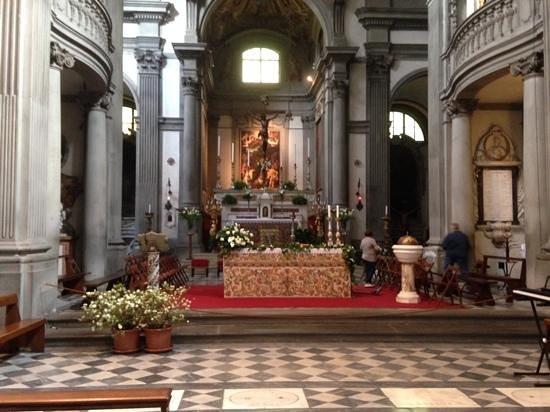 Church of Santa Felicita: Beautiful Interior