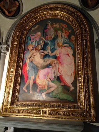 Church of Santa Felicita: Pontormo's Deposition