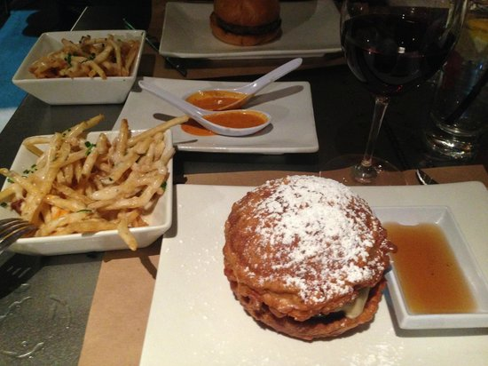 Umami Burger: Limited Monte Cristo Burger