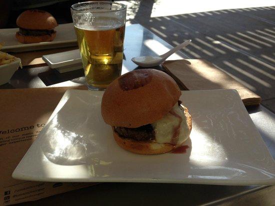 Umami Burger: Truffle Burger!