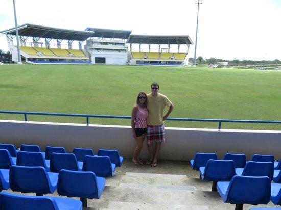Antigua V.I.P. Tours: Sir Vivian Richards Cricket Stadium