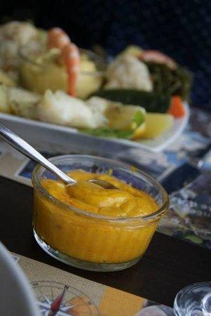 Couscous De Poisson Et Salade Fruits De Mer Photo De Au