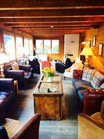 "Chalet de Champery: ""living room"""