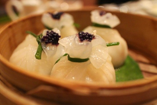 The Ritz-Carlton, Bangalore: One of the amazing dim sum creations from the Lantern
