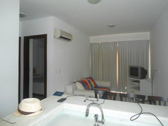 Picasso Flat: Sala e quarto.