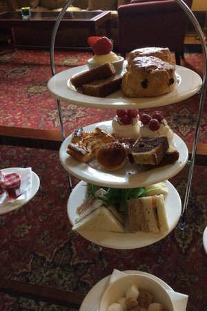 Mar Hall Golf & Spa Resort : Afternoon tea
