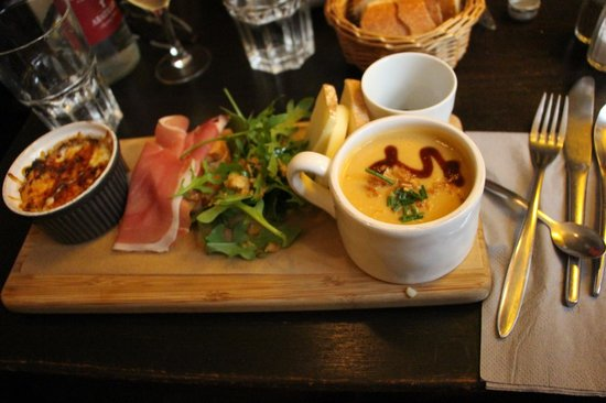 Plume Bakery & Coffee: My favorite lunch of our trip - great flavors and I am still dreaming of that egg en egg cocotte