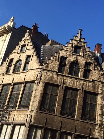 Hilton Antwerp Old Town : Beautiful sights
