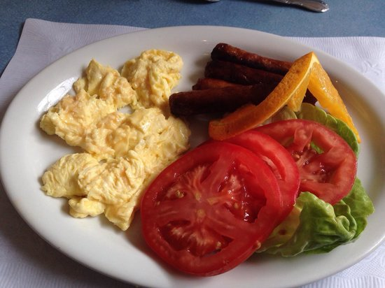 Holly's Lighthouse Cafe : Yummy breakfast.