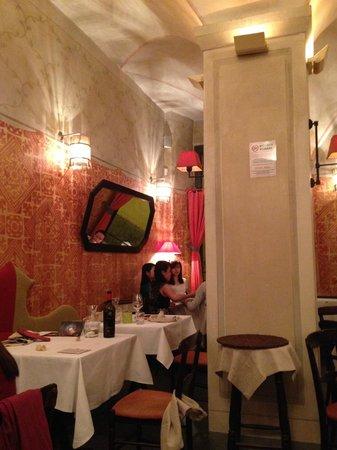 Ristorante & Wine Bar dei Frescobaldi : La salle