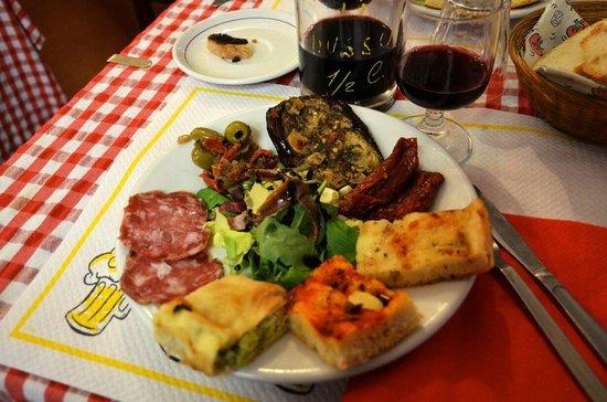 Il Mulattiere: 점심 세트메뉴로 시킨요리