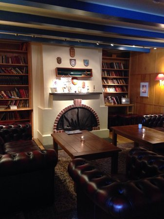 Spitsbergen Hotel: ホテルのラウンジ