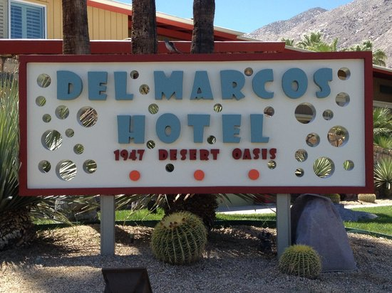 Del Marcos Hotel: Cool as it gets in Palm Springs
