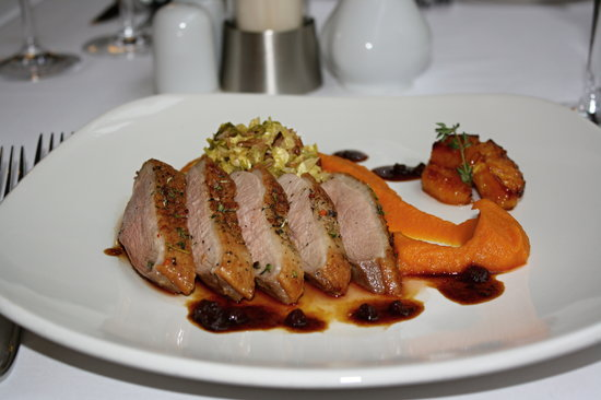 Sarah Bernhardt : Roasted duck breast with orange and ginger sauce